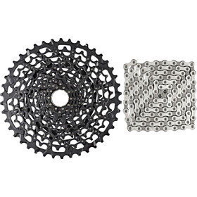 SRAM XG-1150 cassette 10-42 & PC 1130 chain 11-speed Cassette bundle